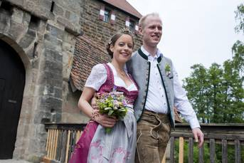 Heiraten in der Laufer Kaiserburg